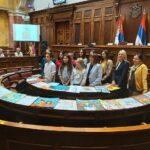 Наша Нађа у Скупштини Србије